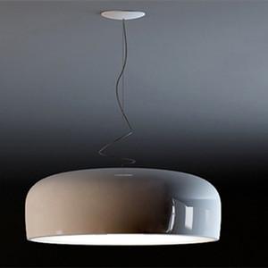 """Smithfield luz de techo de aluminio de acrílico lámpara pendiente de la lámpara de D60cm, 23.6"""" (Blanco / Negro) Accesorio de iluminación PA0074"""