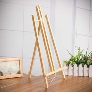 50cm Wood Easel Advertisement Exhibition Display Shelf Holder Studio Painting Wood Stand Party Decoration Art Supplies Y200428