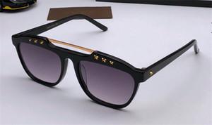 النظارات الشمسية مصمم أزياء جديدة 0615 إطار بسيط مع النجوم المسامير شعبية نمط أعلى جودة النظارات الواقية uv400