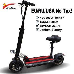 48V 500W Strong Power Electric Scooter 100KM Distance 26ah Battery Foldable Electric Skateboard Bike Patinete Electrico Adulto