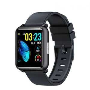 H9 1.3 Inch ECG+PPG Monitor HR Blood Pressure Smartwatch IP67 Waterproof Sport Modes Charger Dock Smart Watch Men Women