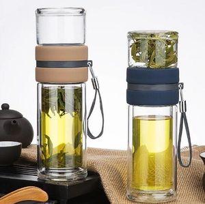 Высококачественный новый разделение стекла чай воды бизнес-офис мужчины и женщины подарок чашка