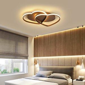 Yeni Alüminyum Modern LED Tavan Işıkları Lampada LED Yatak Odası Çocuk Odası Ev Lamparas De Techo Tavan Lambası AC110V-240V