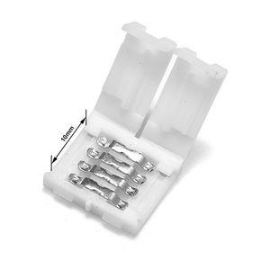 을 Freeshipping 500PCS 8mm 10mm 2 핀 LED 스트립 커넥터 4 핀 10mm 커넥터 무료 용접 용 SMD 5050 개 5630 단일 색상 LED 스트립 조명
