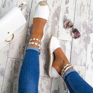NOUVEAU Sandales d'été Chaussures plates suédine confortable ComfortableSize 35-43 Chaussures Casual Chaussures Mujer Taille 35-43 YP-87