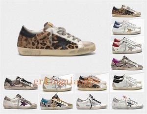 Мода Италия Goleden Old Style DB кроссовки из натуральной кожи ворсинок дермы Повседневная обувь Мужчины / женщины Superstar Trainer Размер EUR 35-45