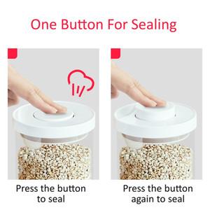 Sealing Glas Vorratsdose Flasche Tee Kaffee Zucker Milchpulver Container Küche Organizer Kanister 500ml 900ml 1200ml 1700ml