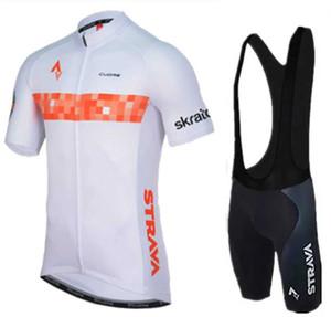 2019 Strava Shorts corte ciclismo maglie Set MTB Quick-Dry Estate Bike Abbigliamento Salopette Ciclismo bicicletta stabilita per l'uomo