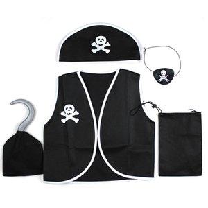 Дети Детские любимые Классические мальчики пиратские костюмы / костюмы для косплея для мальчиков / Хэллоуин косплей Взрослый костюм