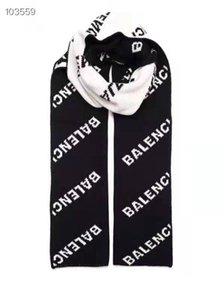 sciarpa autunno e l'inverno in Europa Parigi mostrano modelli di lettere in bianco e nero due colori donna a doppia faccia marca marea sciarpe nessuna scatola ca52a