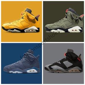 Find Similar 2020 Washed Denim 6 6s Travis Scotts Men Shoes Black Infrared DMP 3M Reflective Tinker Mens casual shoes 7-13 Drop