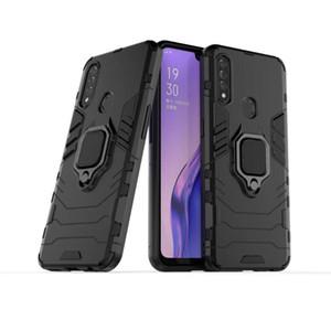 Pour OPPO A8 cas Bague ultra-mince dur PC couverture arrière luxe coloré autocollant de protection de cas pour OPPO A8