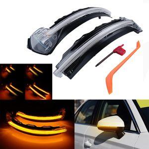 Для A3 S3-8V 2012-динамических LED бокового зеркала Indicator Light Amber 12V
