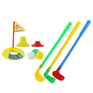 Golf Mini Putter Seti Çocuk Erkekler Kızlar Kapalı Açık Topu Oyunu Pratik Oyuncak