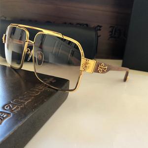Yeni moda tasarımcısı hummer-ı vaka ile kare kare ahşap oyma tapınak Retro gözlük TOP kalite Punk stili gelip güneş gözlüğü