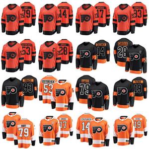 Philadelphia Flyers Jerseys Mens 17 Wayne Simmonds Jersey 28 Claude Giroux 19 Nolan Patrick Womens Ice Hockey Jerseys Youth Stitched