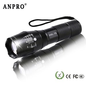 XML T6 Led Q5 Mini Torch Lanterna Tactical Zoomable Waterproof Protable Camping Bike