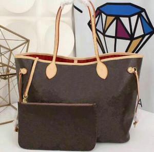 Новый лучший 2 шт. / компл. известный классический дизайнер плеча композитные сумки дамы плечо хозяйственная сумка Сумочка feminina клатч сумки