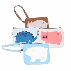 NOVO Women Ladies Leather Clutch Moedas telefone carteira, bolsa sacos de armazenamento Pouch Numerário Cartões Titular Hangbag Caso Container Organizer