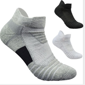 Basketball Male Elite Outdoor Sports Short-barrel Towel Bottom Thickened Pure Cotton Ventilated Running Wool Loop Socks