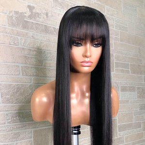 Lace Front Human Hair Wigs Brazilian Remy Hair 13x4 Parting Straight Wig