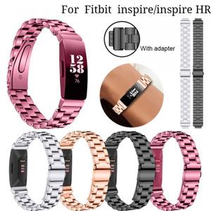 시계 끈 스테인레스 스틸 용 Fitbit 영감 / 영감 HR 팔찌 교체 Fitbit 용 시계 밴드 팔찌 벨트