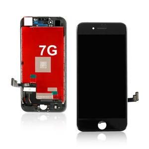 100% أصلي عرض مجمعة Digizer Replacement For iphone 7 lcd, mobile phone display with touch screen for iphone 7