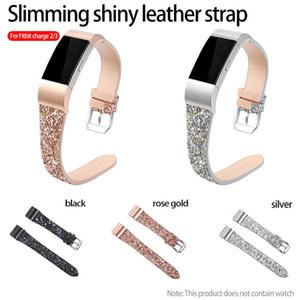 Fitbit ücret 3/2 izle Bant Giltter Pullu Saat Kayışı İnce Moda Bileklik Akıllı İzle Yedek bandı için