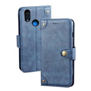 YLYH TPU de silicona protectora de cuero del tirón del gel de goma cubierta del teléfono caso para Infinix caliente S4 X622 X627 Smart 3 Plus bolsa de Shell Monedero Estuche Piel