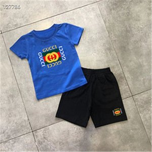 2020 Baby Boys And Girls Designer T-shirts And Shorts Suit Brand Tracksuits 2 Kids Clothing Set Hot Sell Fashion Summer Children's T89784