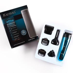 Kemei 891 pelo eléctrico Clipper Bajo Ruido cara pelo afeitadora 6 en 1 recargable Barba Trimer F30 bwkf NwHNJ