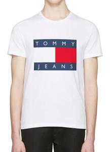 New Balr Designer T Shirts Hip HopTom̴my Mens Designer T Shirts Fashion Brand Mens Womens Short Sleeve Large Size T Shirts