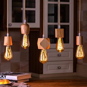 E27 Lâmpada retro Base de Dados Pendant base de luz Lâmpada Soquete industrial Fittings suporte da lâmpada de fixação para a literatura e decoração da arte