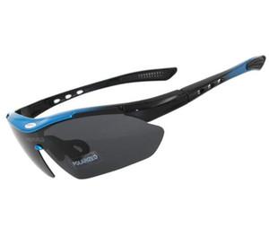 barato 3 lentes polarizadas esportes ao ar livre UV400 óculos de bicicleta para mulheres dos homens à prova de vento e óculos de sol míopes, Ciclismo Protective engrenagem eyewears