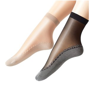 5pair Breathable Sommer Socken Frau Frauen Frau Anke Socken Solid Color Lässige Meias Damen Socken Kurz Transparent