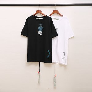100% OFF New Arrival Top Quality Brand Designer Men Women T-Shirt Fashion Print Tees White Short Sleeve 1117
