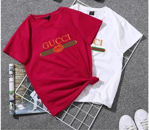 Frauen-T-Shirt Schwarz Hot Art Sommer-Frauen-T-Shirt lässig Tank tops O-Ansatz Brief-Druck-T-Shirt T-Shirt blusas roupas femininas Dame Tuch