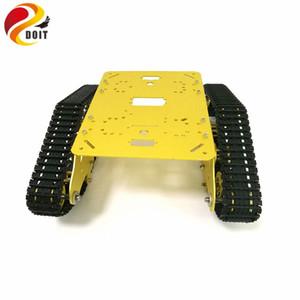 DOIT TS300 Tracked Robot Smart Car Platform with Damping Effect System for Arduino Raspberry Pi DIY Kit STEM Education