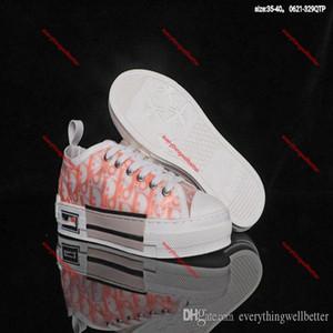 Dior b23 b22 shoes 2020 neue Top-Qualität 19SS Blumen Technologie hococal Leinwand B2 B24 schräge männliche Marke High-Top Sneaker B2 Markendesigner Damen Schuhe