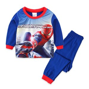 Kids Pajamas Sets Sleepwear Spider Man Children Clothing Baby Pajama Set Cotton Autumn Long Sleeve Boys Clothes Set Costume Wear