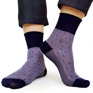 Marke herren business socken nylon männlich formal lange socke dot mi kleid anzug socken für mann sammlung sox hohe qualität atmungsaktiv