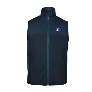 2019 nouveaux vestes de golf pour hommes sans manches à glissière vestes de golf hommes gilet mince sports de plein air outwear gilets