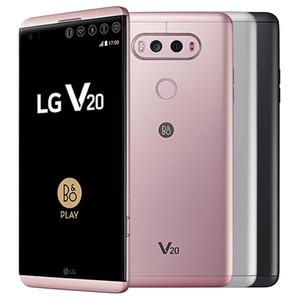 Réformé LG V20 d'origine H990N H910 VS995 5.7 pouces Quad Core 4 Go de RAM 64GB ROM 16MP + 8MP caméra 4G LTE Android 7.0 Smart Phone DHL 5pcs