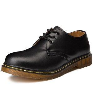 Марка высокого качества Мужчина Повседневная обувь дышащая Резиновая Донные износостойкая Мужчины обувь Оксфорд мода обувь из натуральной кожи мужчины
