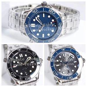 42mm Männer Fabrik VS Automatische Cal.8800 Co-Axial-Uhr-Mann-Diver 300M Sapphire Chronometer Master Uhren Ozean Keramiklünette Armbanduhren
