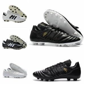 Mens Copa Mundial Leather FG Soccer Shoes 70Y Soccer Cleats 2019 World Cup Football Boots Black White 금 Orange botines futbol