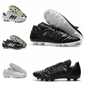 Scarpe da calcio da uomo in pelle Copa Mundial FG 70Y scarpe da calcio 2019 Coppa del mondo Scarpe da calcio nero bianco oro arancione botines futbol