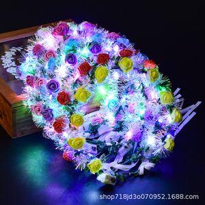 Garland luminous tiara flashing new LED3 flashing pattern wreath lamp toy