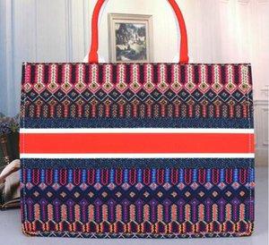 Designer Damen Handtaschen Blumen-Damen-lässige Tote Leder-Designer-Leinwand Schultertasche Weibliche Handtasche 2020 Designer Luxus-Handtaschen Portemonnaie