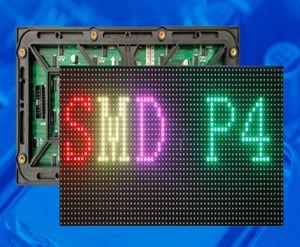 무료 배송 야외 LED 디스플레이 RGB p4 led 디스플레이 모듈 256 * 128 mm LED 미디어 화면 디스플레이 광고